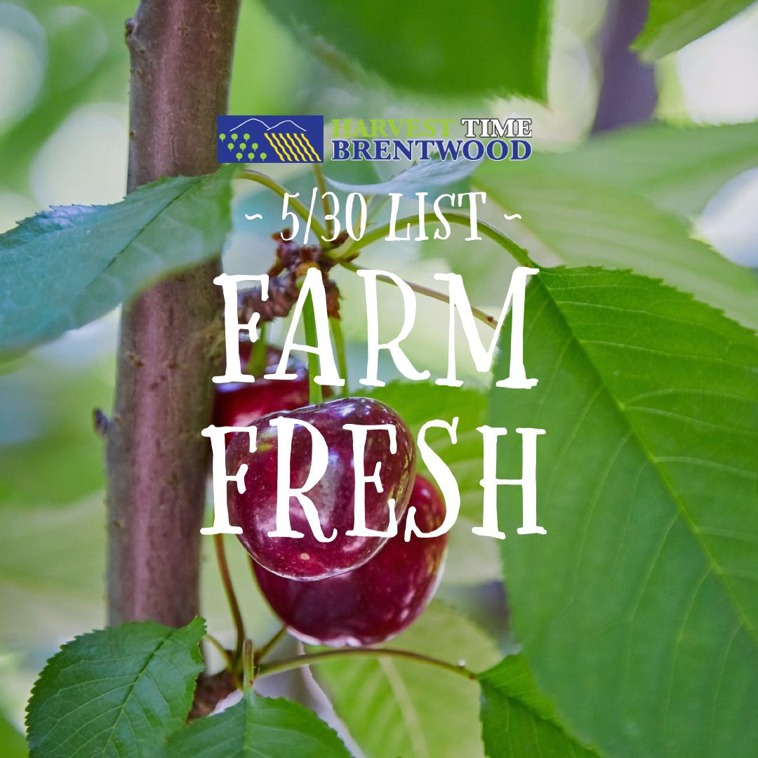 Harvest Time Farm List